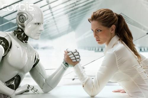 Wanita dan Robot 1