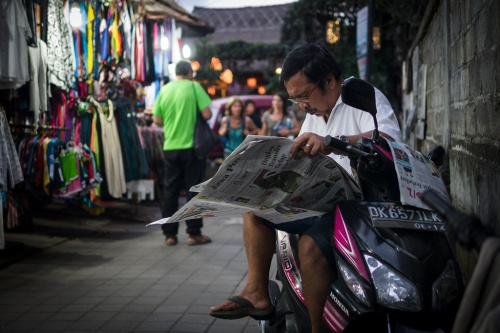 Baca JP di Bali