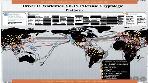 Peta Jaringan Penyadap NSA