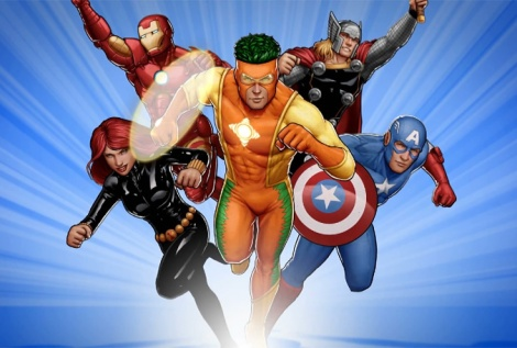 Captain Citrus and Other Marvel Heroes