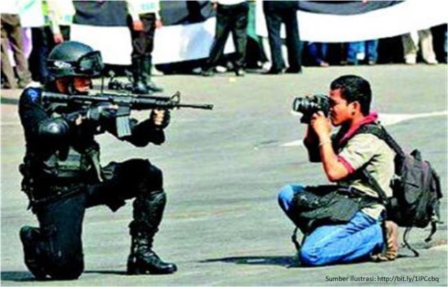 Wartawan dalam ancaman