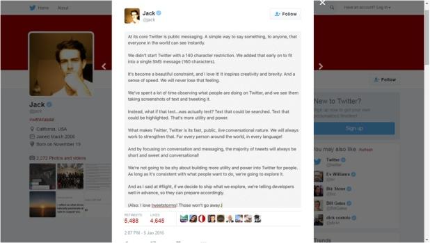 CEO Twitter Tentang Beyond 140