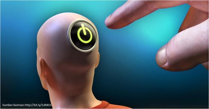 Tombol Manusia Robot